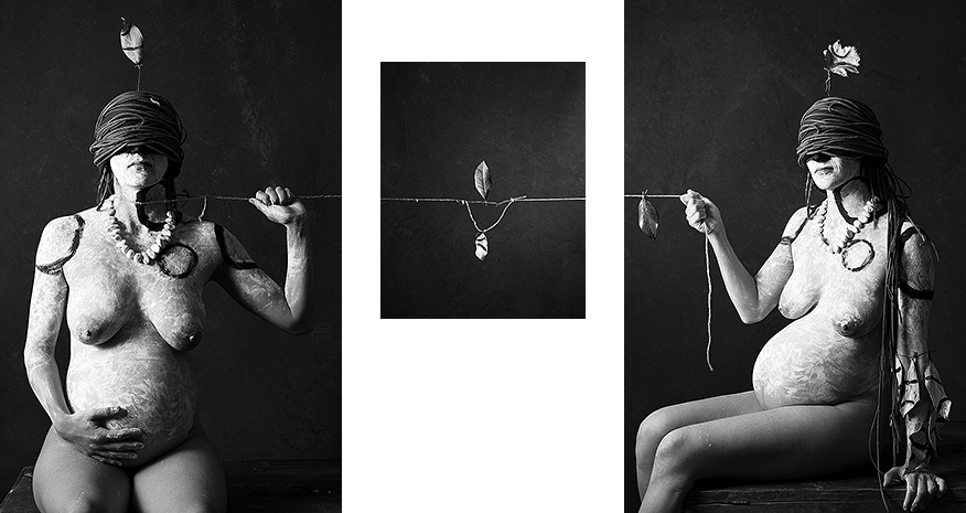 String triptych III: drag, equilibrium, pull